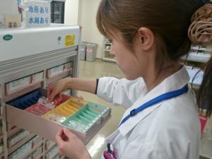 定数配置薬在庫管理